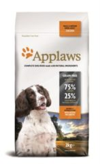 (8110658) Applaws dog adult small / medium chicken hondenvoer 2 kg