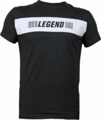 Legend Sports T-Shirt zwart Legends Aren't born, you become one 2XS