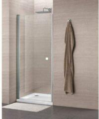 Royal Plaza Hendra draaideur 100x195cm chroom profiel en helder glas en Clean antikalkbehandeling 70715