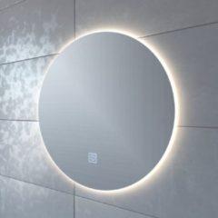 Adema Circle badkamerspiegel rond diameter 60cm met indirecte LED verlichting met spiegelverwarming en touch schakelaar JG1112-600