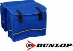 Dunlop Dubbele Fietstas - Blauw - 26 liter