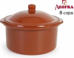 Bruine Azofra cocotte 28 cm