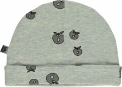 Smafolk Babymutsje, Licht grijs (maat 62-68)