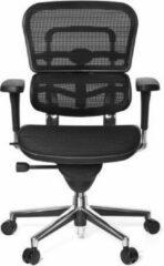 Hjh OFFICE Ergohuman Base net - Luxe directiestoel - Zwart - Netstof