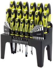 Draper Tools Schroevendraaier. inbus en bit set 44-delig groen 78619