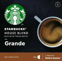Starbucks® House Blend by Nescafé® Dolce Gusto® Medium Roast - 12 Capsules