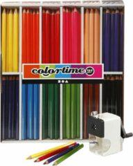 Colortime JUMBO kleurpotloden, vulling: 5 mm, klassenset, 1set