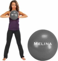 Trendy Sport Melina - Pilates bal - Fitnessbal - Yoga bal - Ø 19 cm - Grijs - 60 kg belastbaar