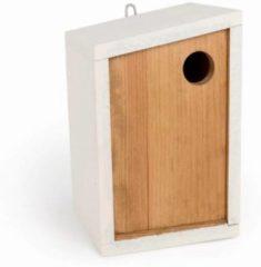 Cj Wildlife Nestkast Lagos - Bruin/Wit - 16 x 16 x 25 cm