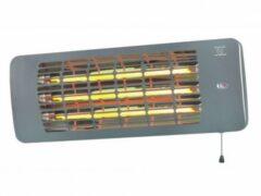 Grijze Eurom Q-time 2001 Elektrische terrasverwarmer 2000W | Hangende terrasheater