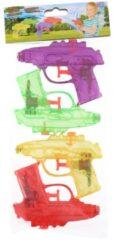 Groene Waterzone Waterpistolen 11,5 Cm 4 Stuks Multicolor