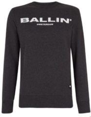 Grijze Sweater Ballin Amsterdam/antraciet