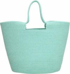 Groene PE Florence PE-Florence Strandtas / Shopper - Mint