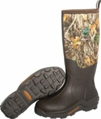 Muck Boot Woody Max Orange lining - Brown/Camo - Maat 46 - Bruin