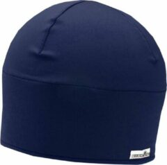 Blauwe Sweatvac Chilly Beanie Navy
