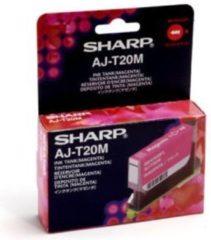 SHARP AJ-T20M inktcartridge magenta standard capacity 350 pagina's 1-pack