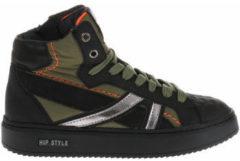 Hoge Sneakers Hip Shoe Style HIP H1096 Sneakers Zwart groen