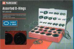 Parkside 420 stuks inside 3 - 50mm/ o- ring assortiment/ 16 afmetingen/ R-01 t/m R-16/ID/SD/ in stevige box/ verschillende afmetingen en de hoeveelheden per afmeting O ring is niet gelijk