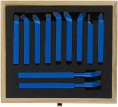 Blauwe Merkloos / Sans marque Beitelset - Beitelset 11 delig - 8x8 mm - Beitel