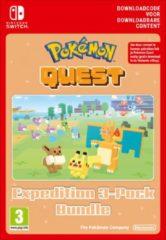 Nintendo digitaal Pokemon Quest Triple Expedition Pack - Nintendo Switch