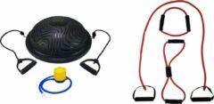 Rode Tunturi - Fitness Set - Balanstrainer - Balance Trainer & Tubbingset Zwaar