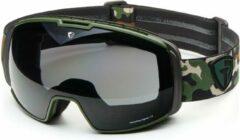 Briko Nyira Free Fighter 7.6 Ski Goggles MATT groen CAMO-SB3 - Maat One size