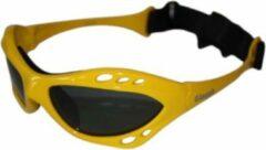Glogglz Zwembril Rayz Polycarbonaat Geel/grijs One-size