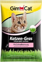 Gimcat Kattengras Met Snelkiemzak - Kattensnack - 100 g