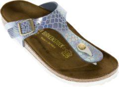 Birkenstock Gizeh Slippers - Maat 39 - Meisjes - blauw