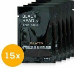 Pilaten Mee-eters verwijderen met blackhead masker / Blackhead - 15 stuks