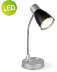 Grijze Light Depot - LED Bureaulamp Lumy - Verstelbaar - Zwart