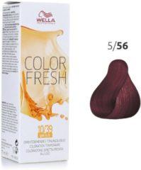 Wella Professionals Wella - Color - Color Fresh - 5/56 Licht Mahonie Violet Bruin - 75 ml