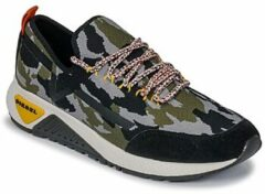 Groene Lage Sneakers Diesel S-KBY