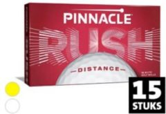 Pinnacle Rush 15-ball pack - Wit, golfballen 2020 uitvoering