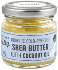 Zoya Goes Pretty Organic Cold Pressed Shea Butter met Coconut Oil - 60 gram