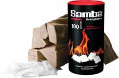 Samba Aanmaakzakjes Openhaard - 100 stuks in Koker
