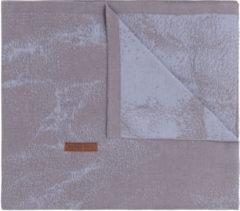 Baby's Only Marble Ledikantdeken Cool Grey / Lila 100 x 135 cm