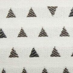 Agora -trian Clue 3928 wit zwart stof per meter buitenstoffen, tuinkussens, palletkussens