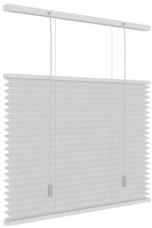 Afbeelding van Decosol Plisségordijn Lichtdoorlatend - Top Down Bottom Up - Wit - Maat: 100 x 180 cm