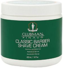 Clubman Pinaud Classic Barber Scheercrème 453ml