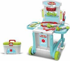 Witte Kids Doctor Doktertrolley 3 in 1 | Speeltafel 3+