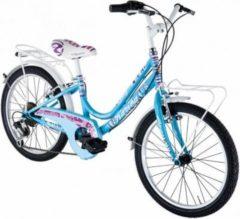 20 Zoll Mädchen Fahrrad 6 Gang Alpina... blau