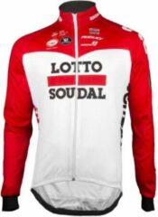 Rode Lotto Soudal Vermarc Mid-Season Jacket Maat XL
