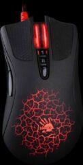 Rode A4Tech A90 muis USB Type-A Optisch 4000 DPI Rechtshandig