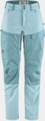 Fjällräven - Women's Abisko Midsummer Zip Off Trousers - Trekkingbroek maat 34 - Fixed Length, grijs
