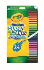 Crayola 24 Supertips Viltstiften met superpunt
