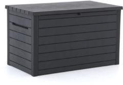 Grijze Keter Ontario Opbergbox 148cm - Laagste prijsgarantie!