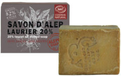 Aleppo Soap Co Aleppo zeep cosmos natural 20% laurier 190 Gram