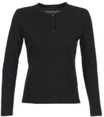 Zwarte T-Shirt Lange Mouw BOTD EBISCOL