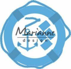 Blauwe Marianne Design Marianne D Creatable Nautische set LR0532 130x128 mm
